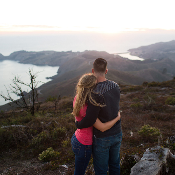 Marin Headlands Engagement - Victoria & Nathan.