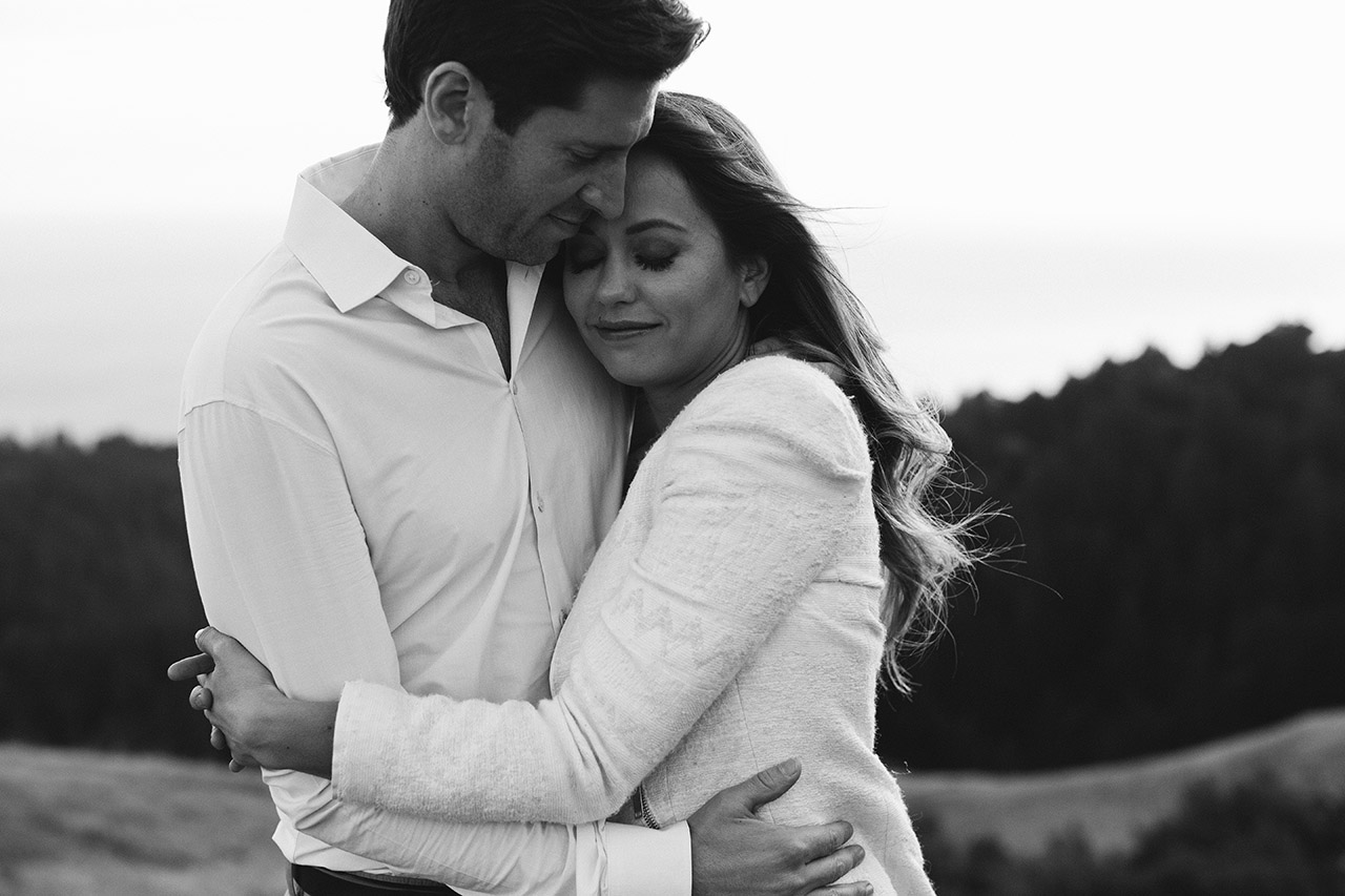 mt tamalpais engagement photos dustin cantrell bw_27