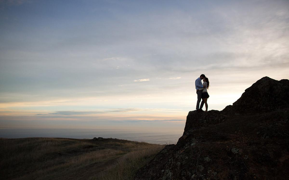 Mount Tamalpais Engagement: Nada & Ian