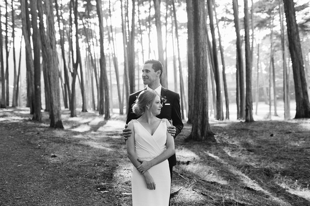 wedding photos in the presidio