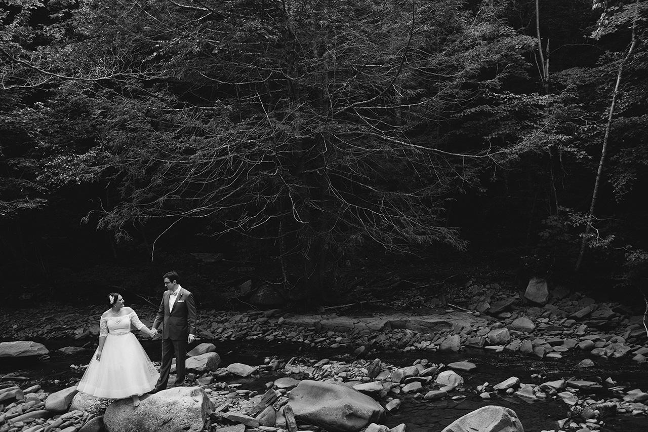 alpine new york wedding photos