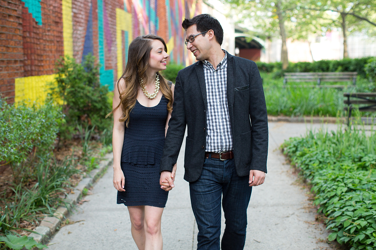 DUMBO engagement session photographer