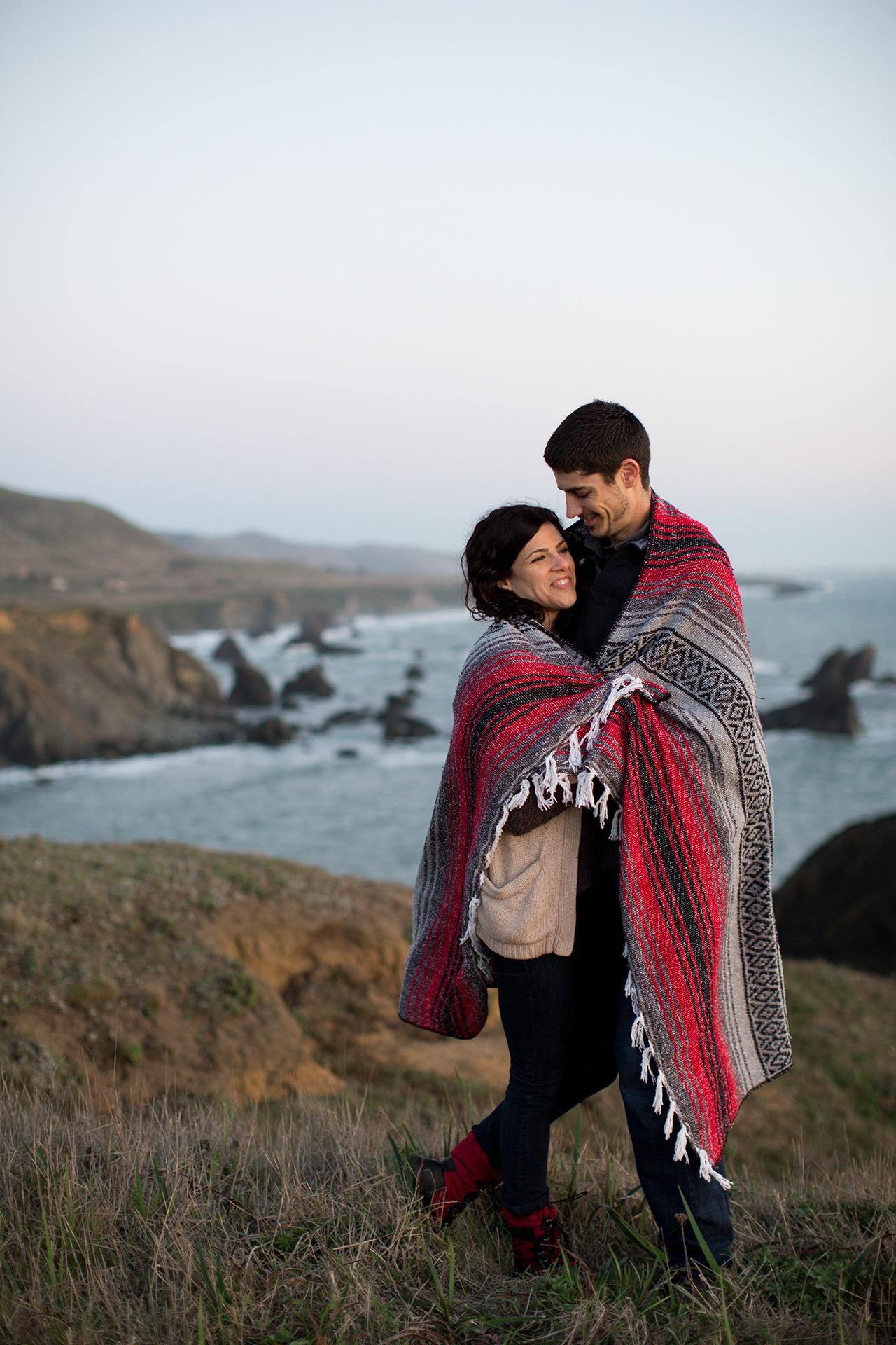 jenner california engagement photo