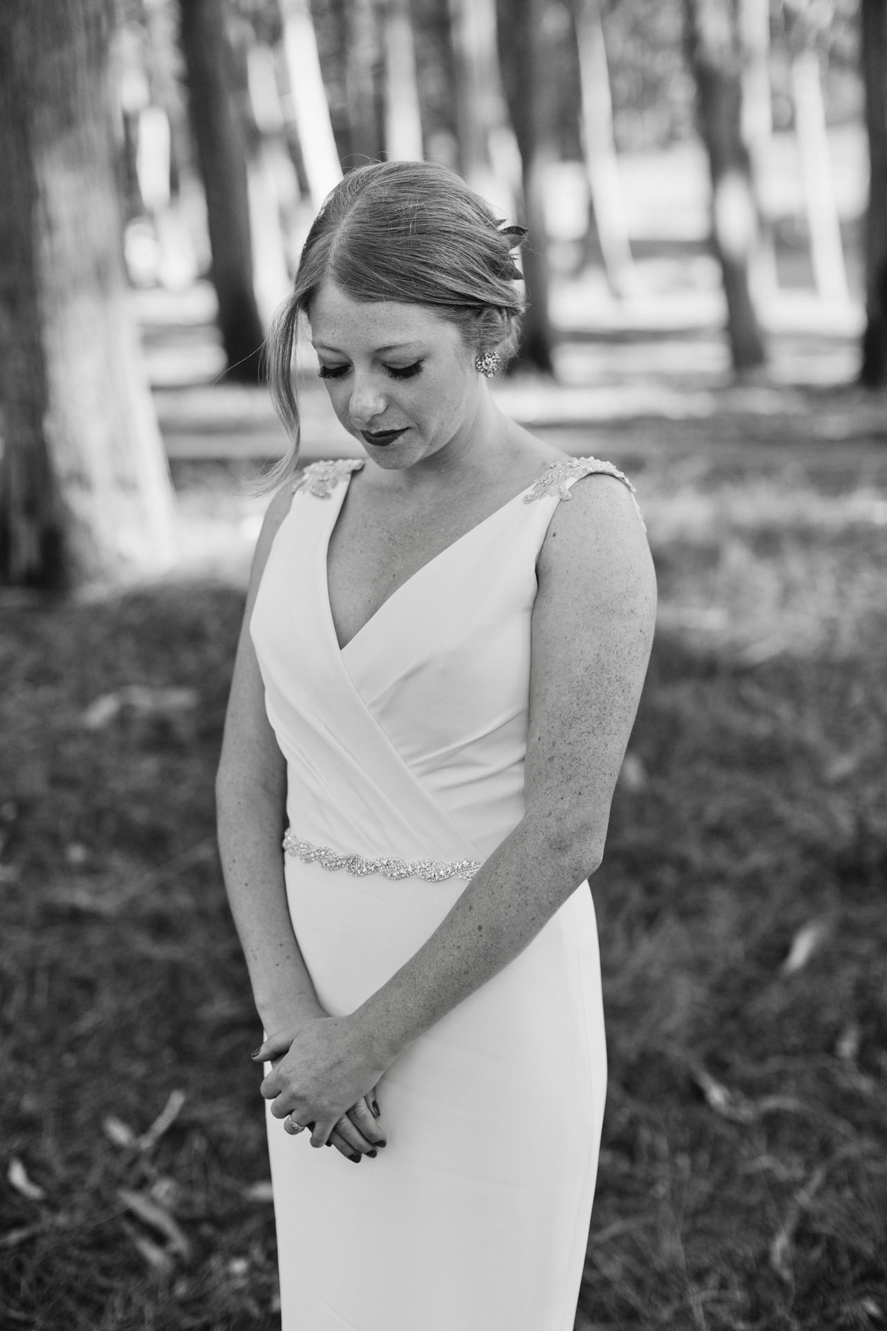 presidio bride portrait