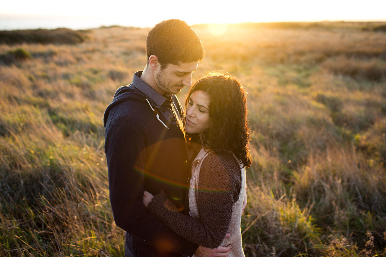 sonoma coast engagement photos