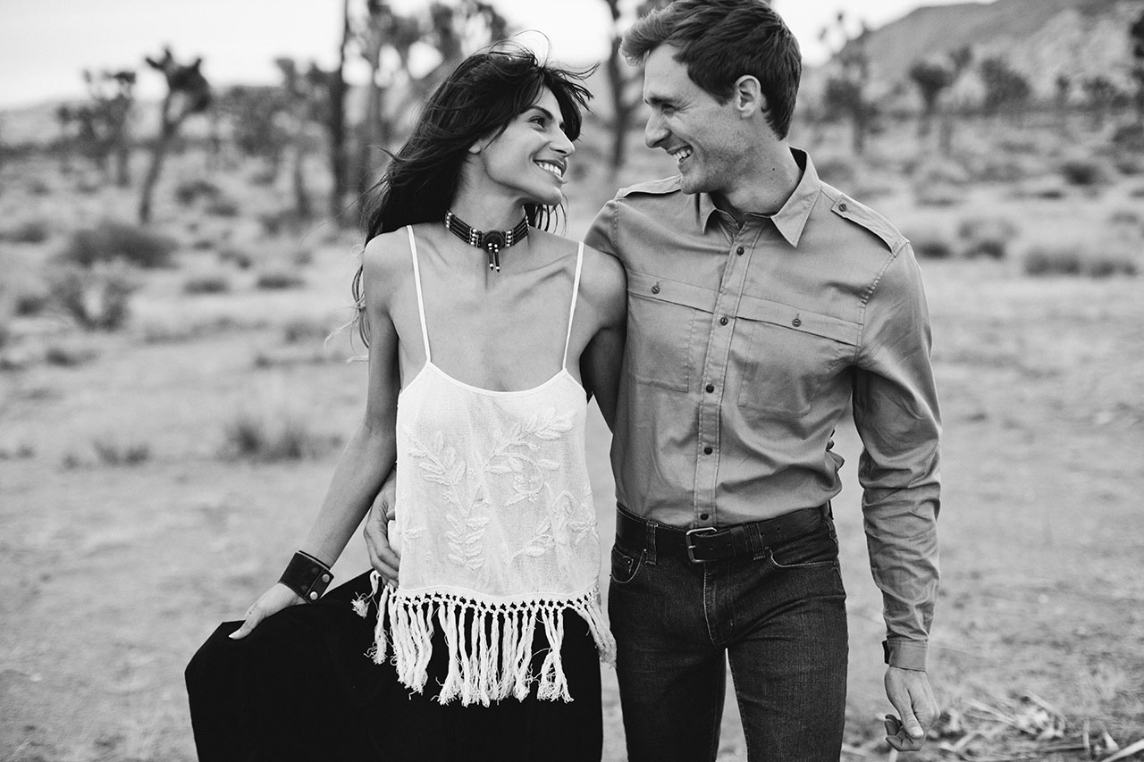 joshua tree engagement photographer