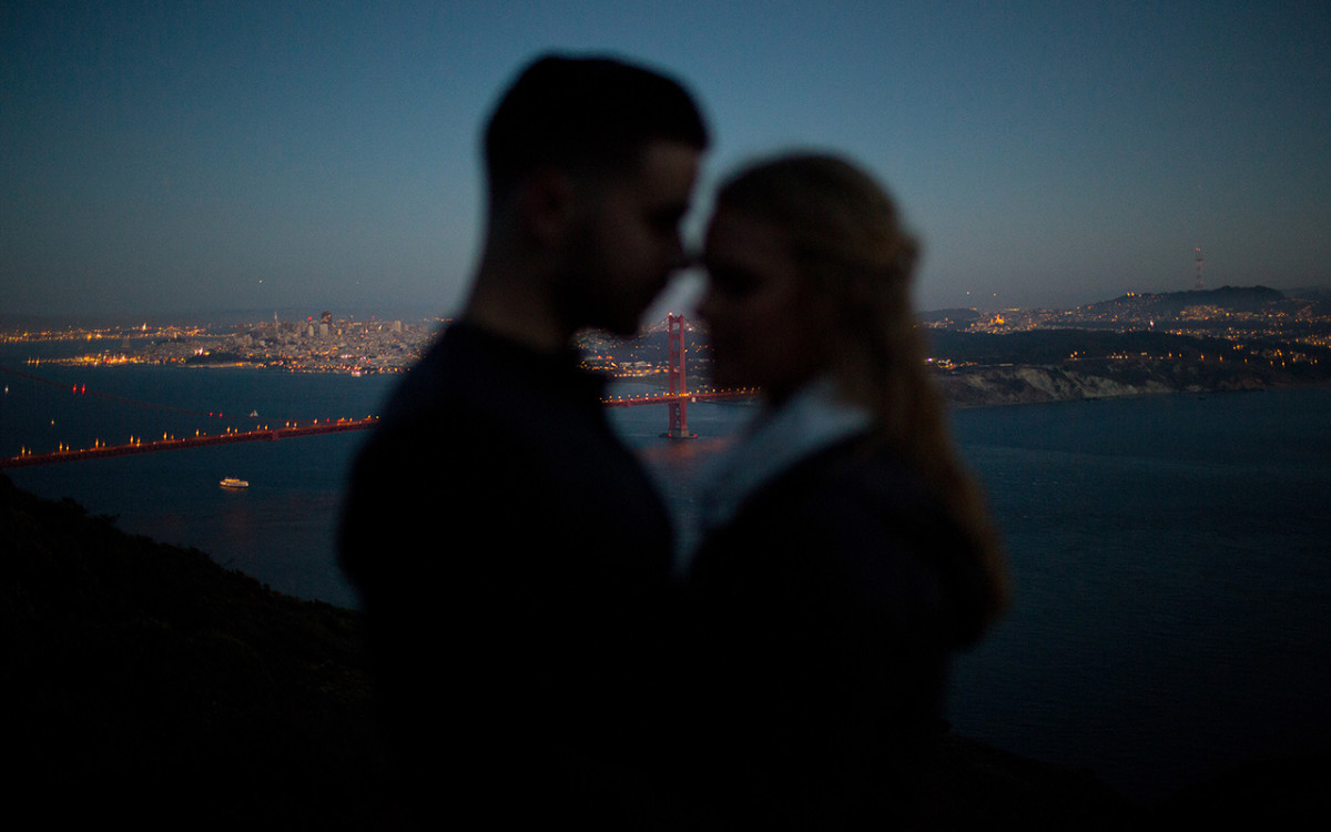 Marin Headlands Engagement Featured on Ever Ours