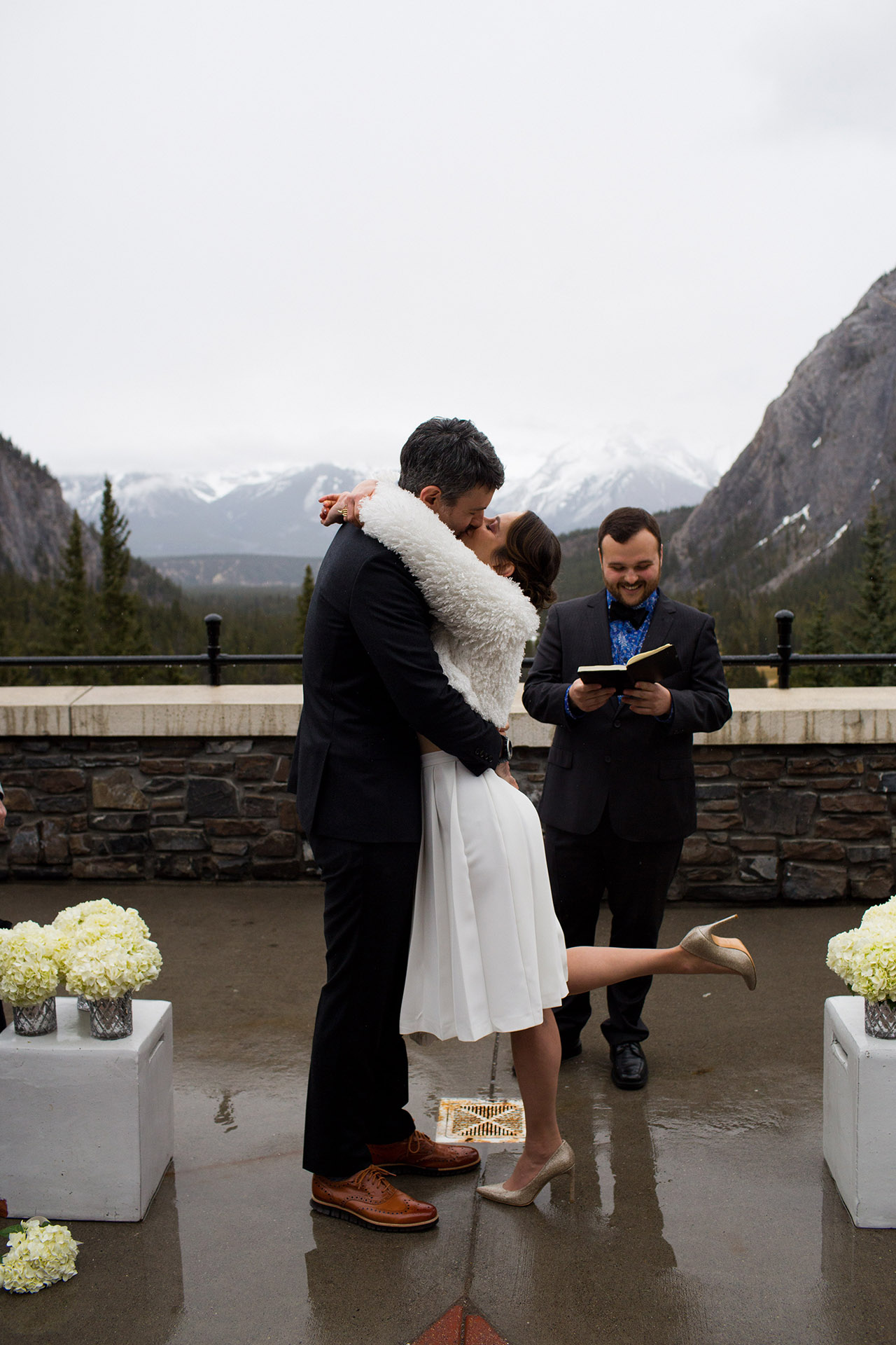 Fairmont Banff Hotel‎ Wedding_151