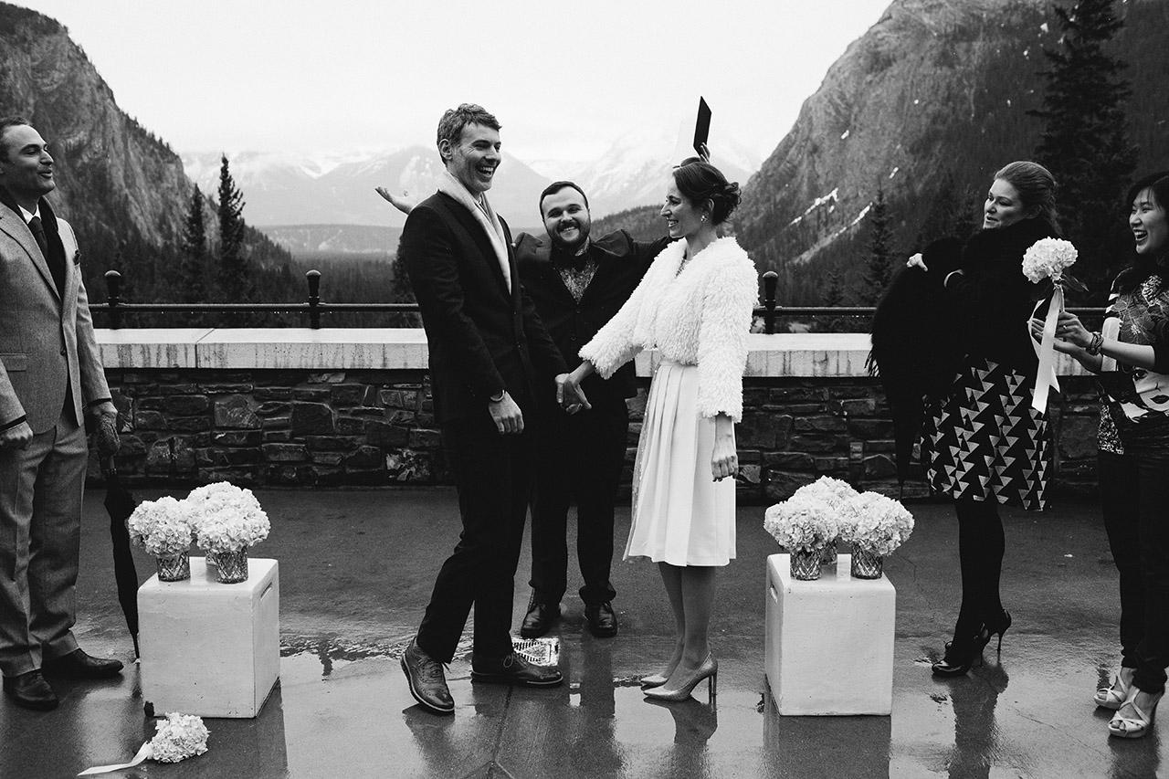 Fairmont Banff Hotel Wedding _154