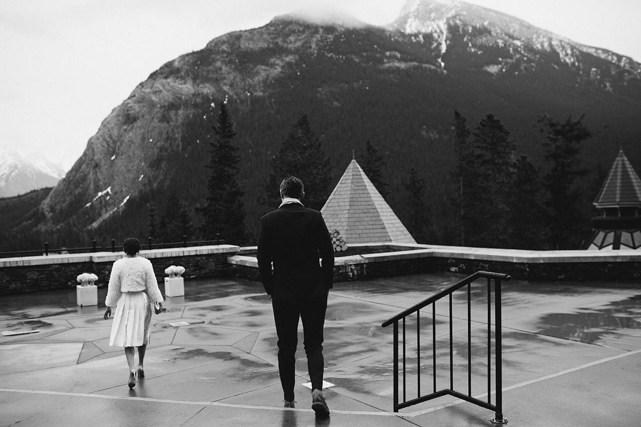 Fairmont Banff Hotel Wedding _51