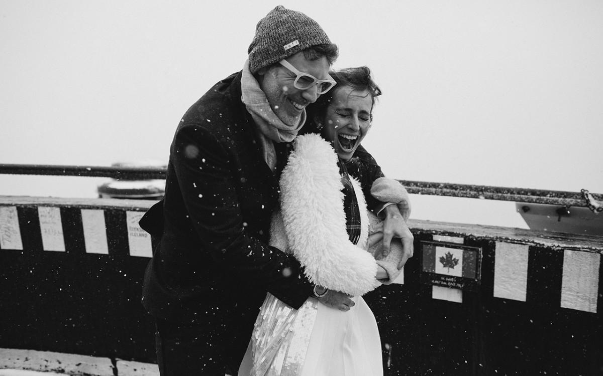 Banff National Park Wedding: Seth & Olga