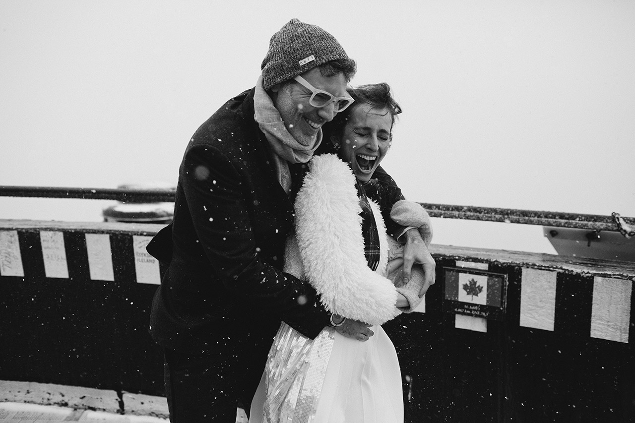 banff winter wedding