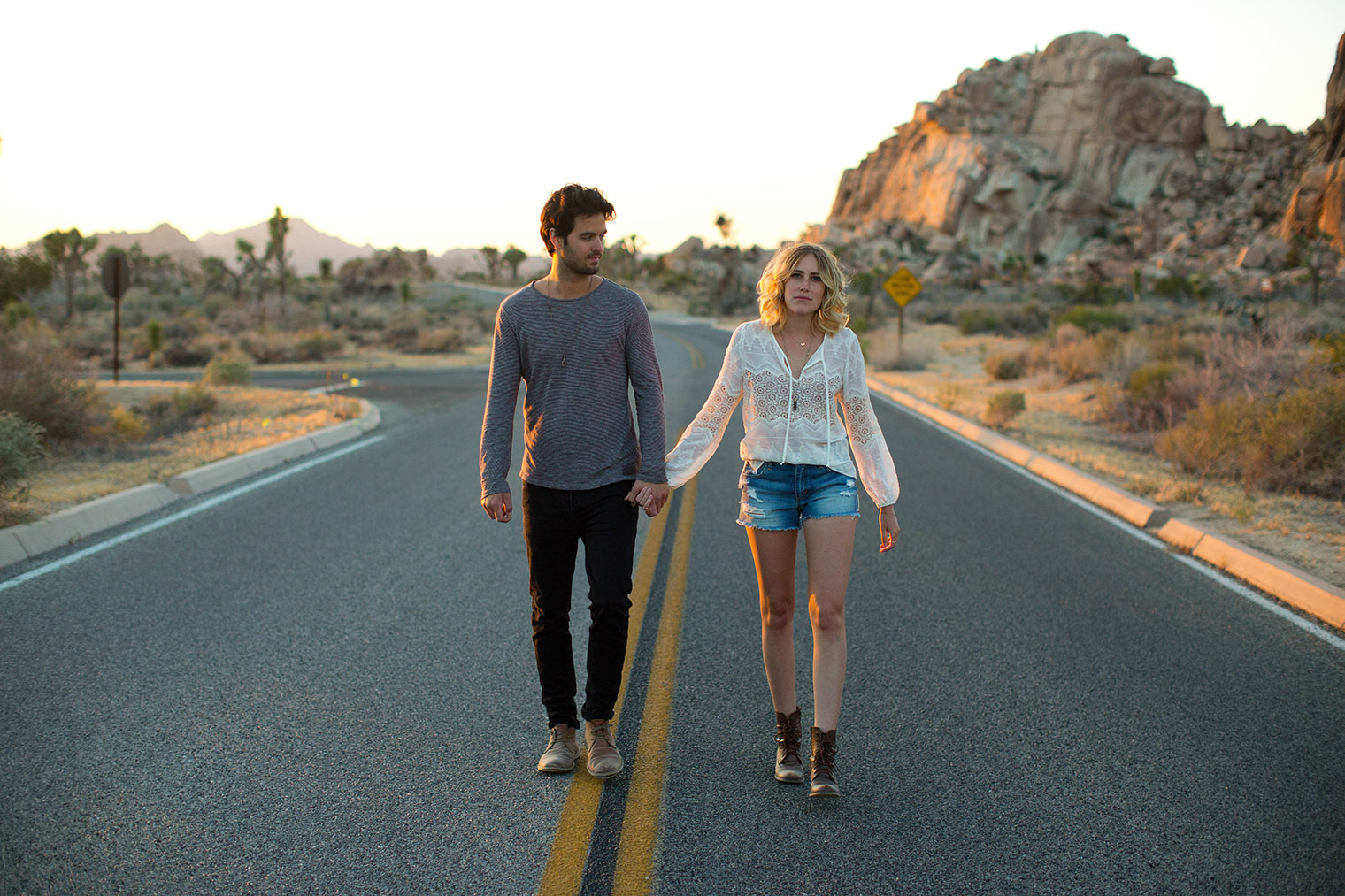 couple photos in joshua tree