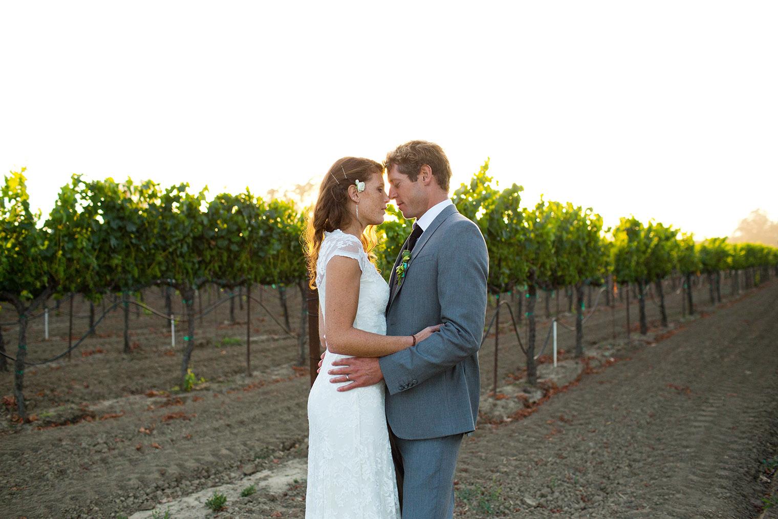 wine country wedding photographer