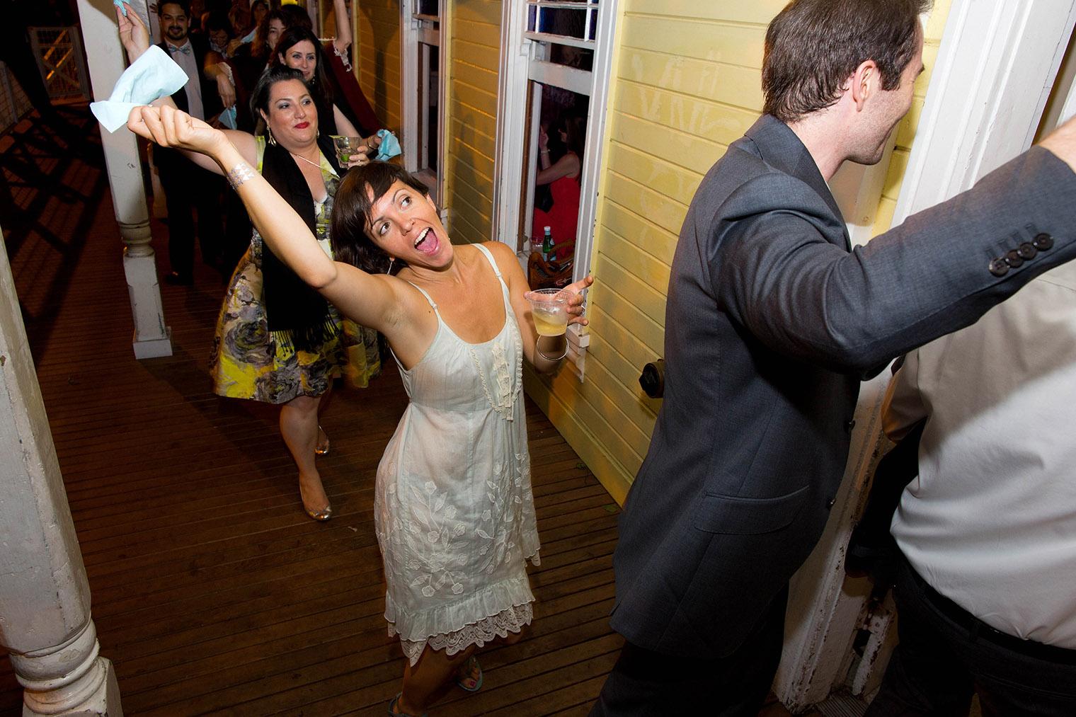 san francisco wedding reception