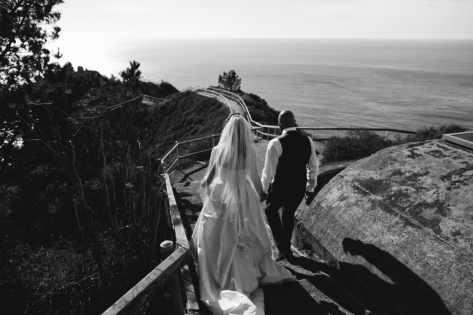 muir beach overlook wedding
