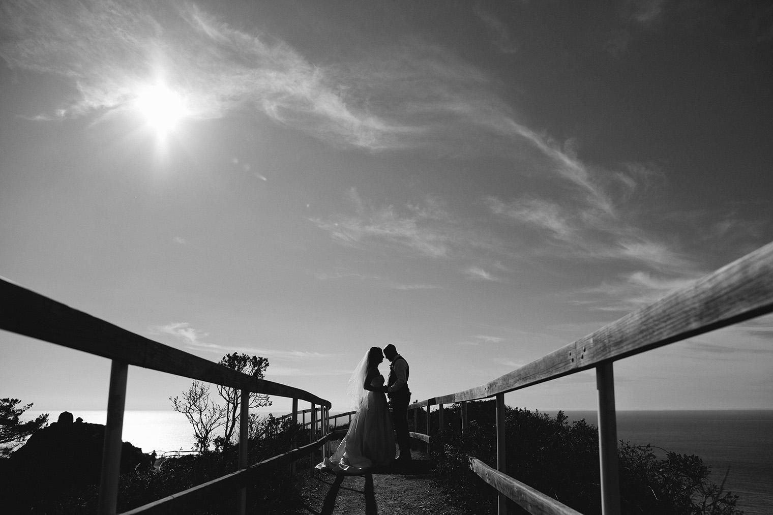 muir beach overlook wedding photographer