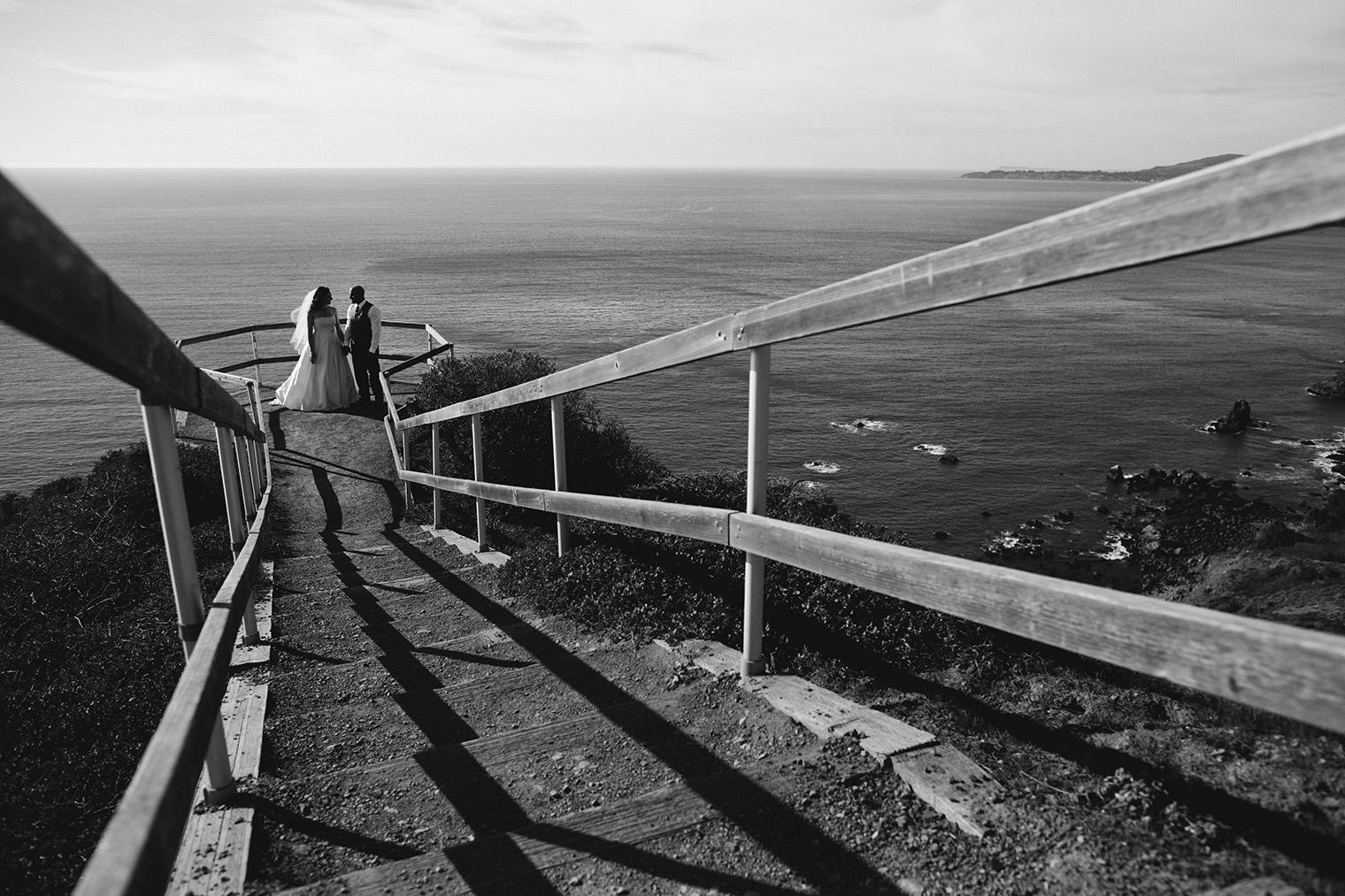 muir beach overlook wedding photography