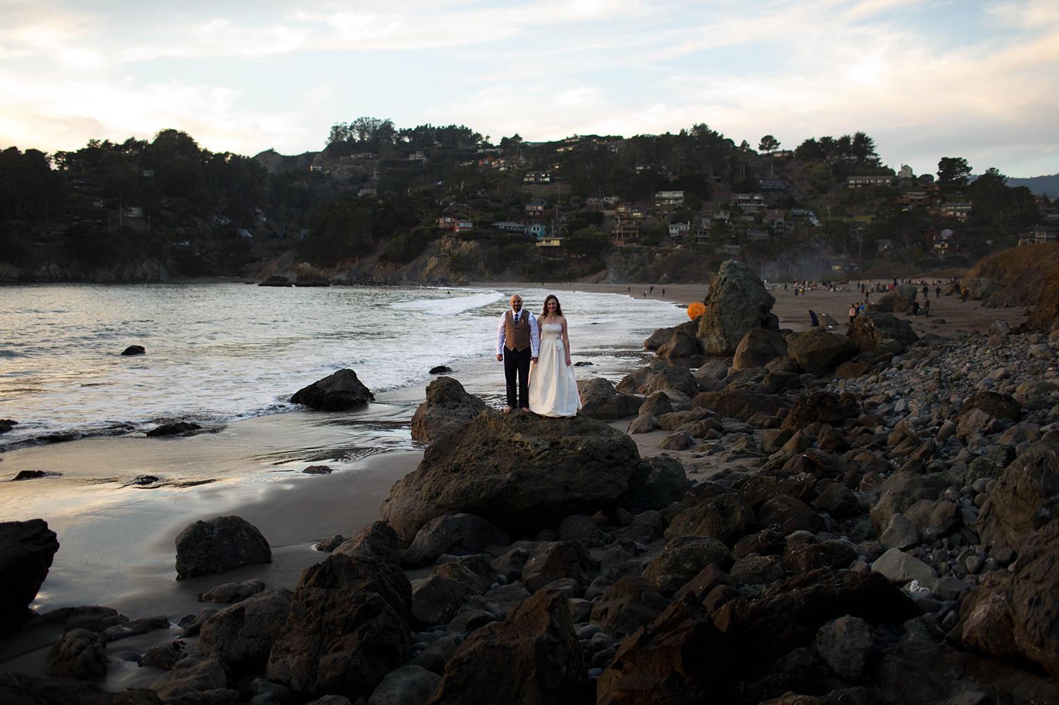 muir beach wedding photographer