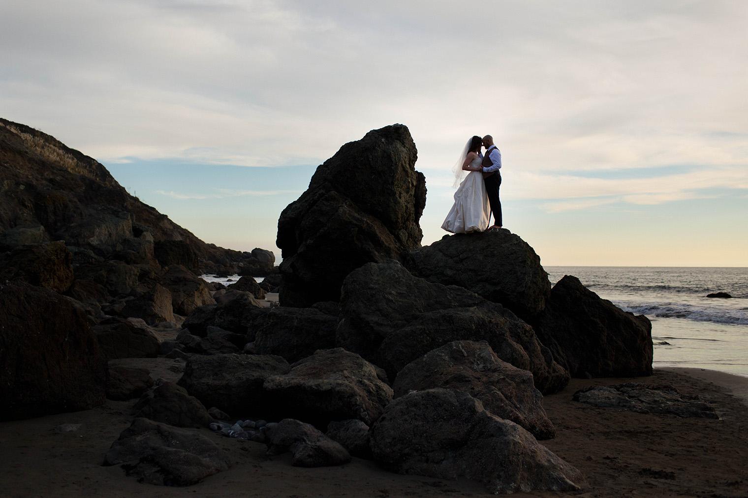 wedding photos at muir beach