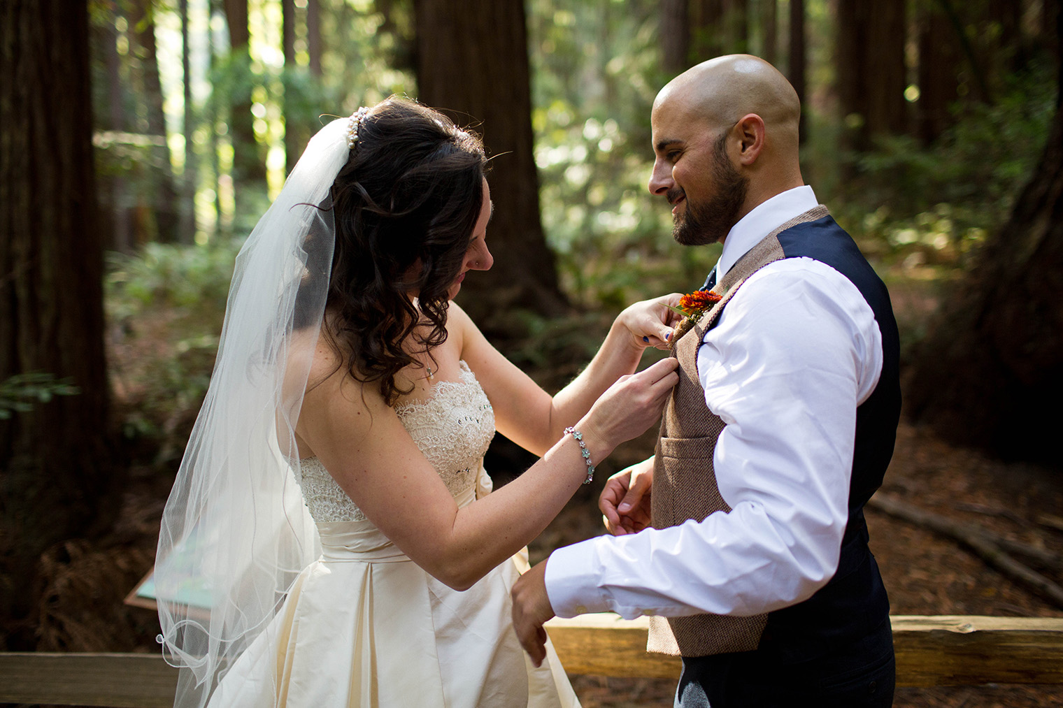 muir woods national monument wedding