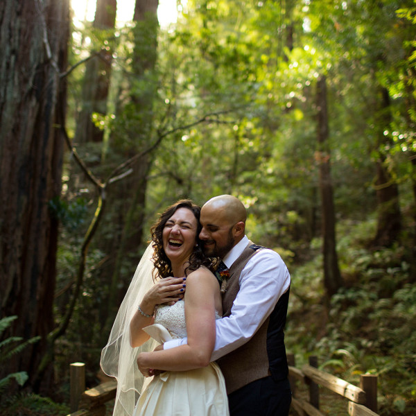 Intimate Northern California Wedding