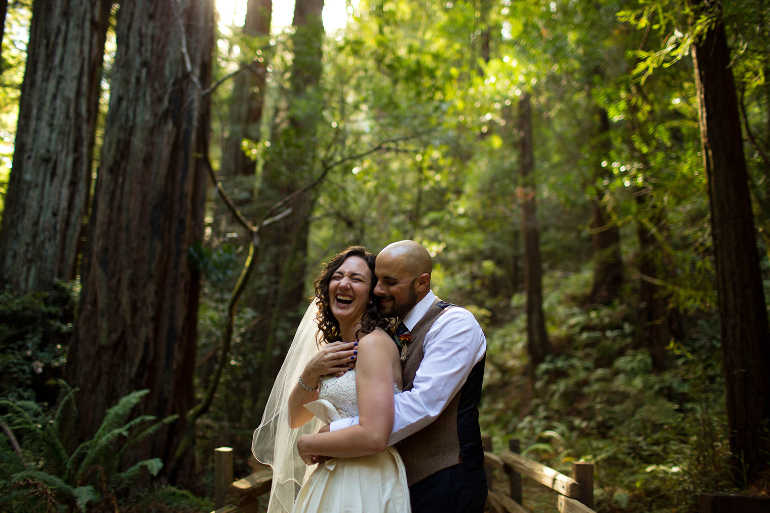 muir woods national monument wedding photos