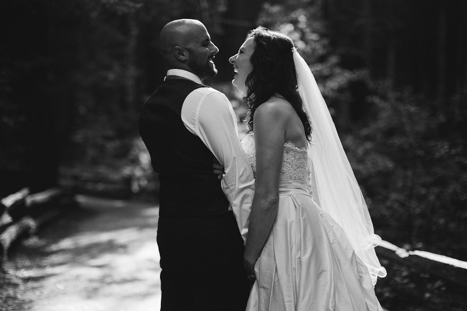 muir woods wedding photos