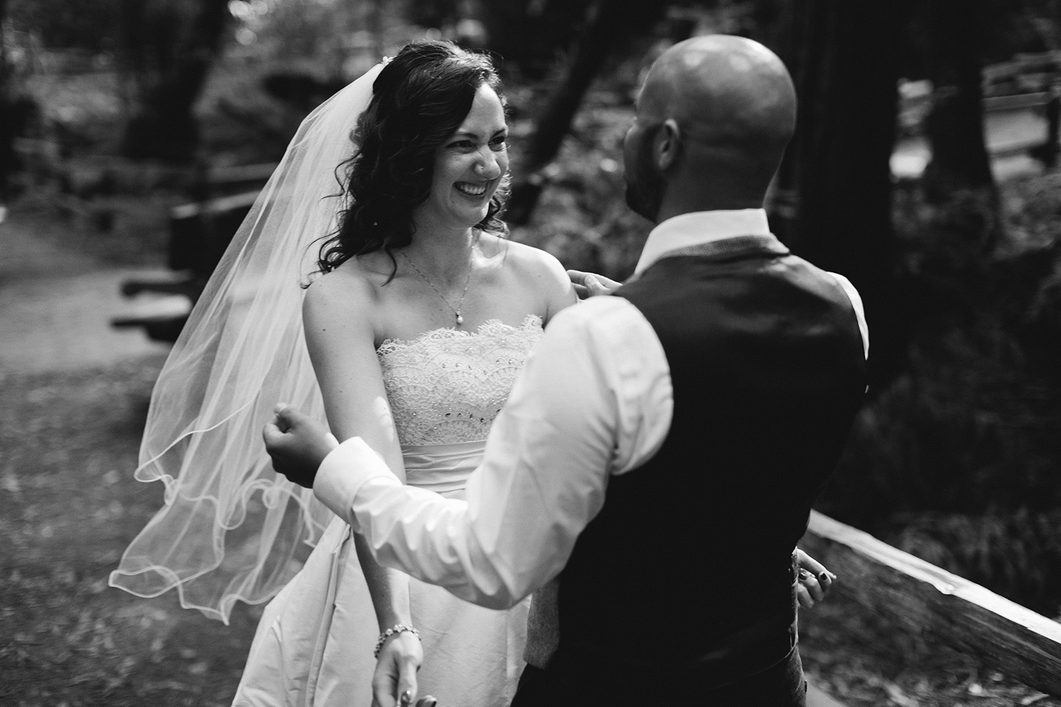 muir woods wedding