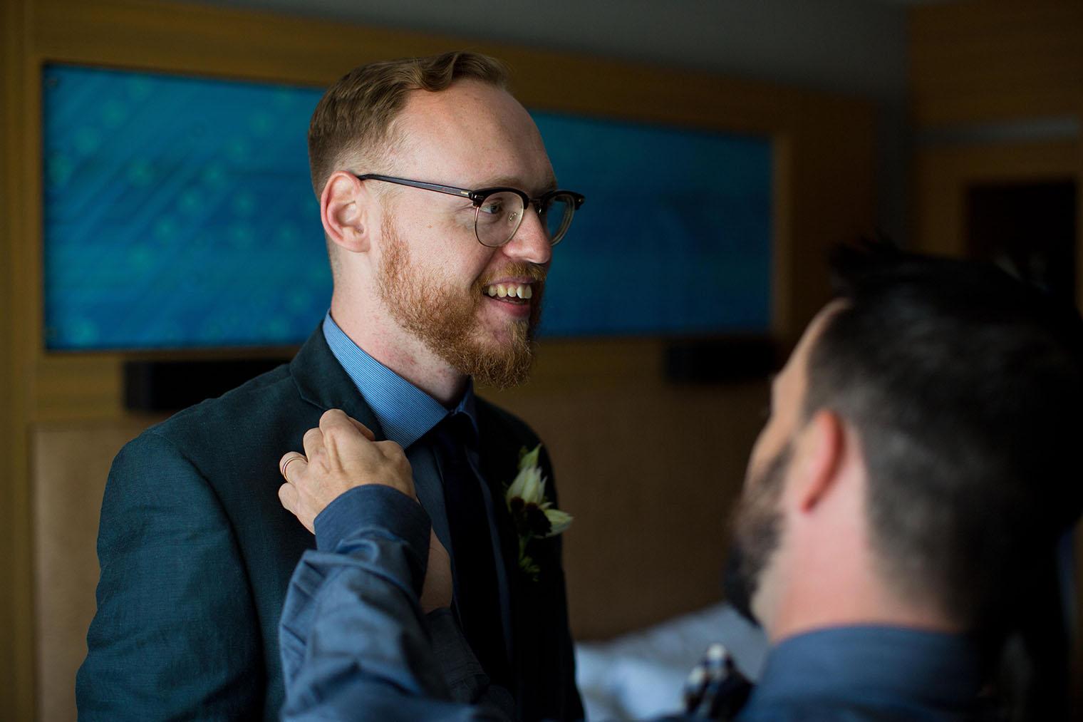 Aloft Cupertino wedding