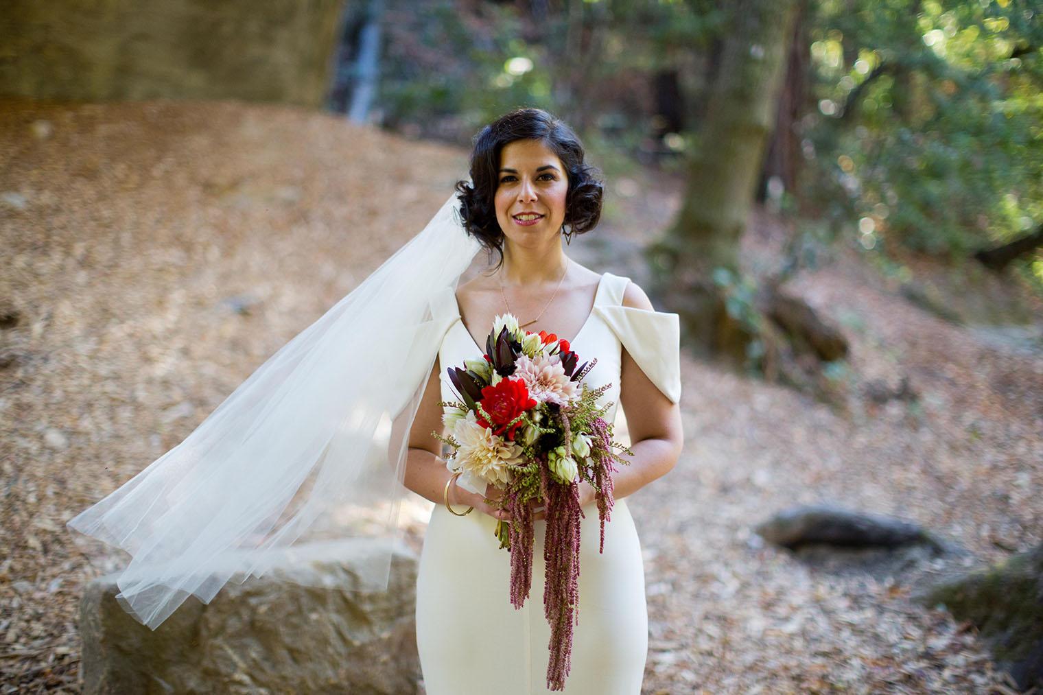 bride at saratoga springs