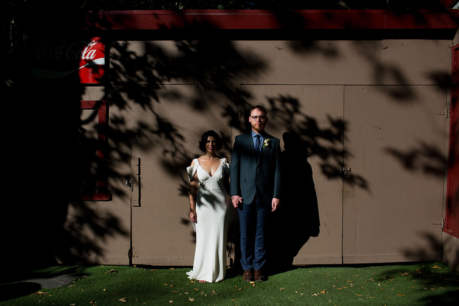 outdoor wedding venue in Saratoga California