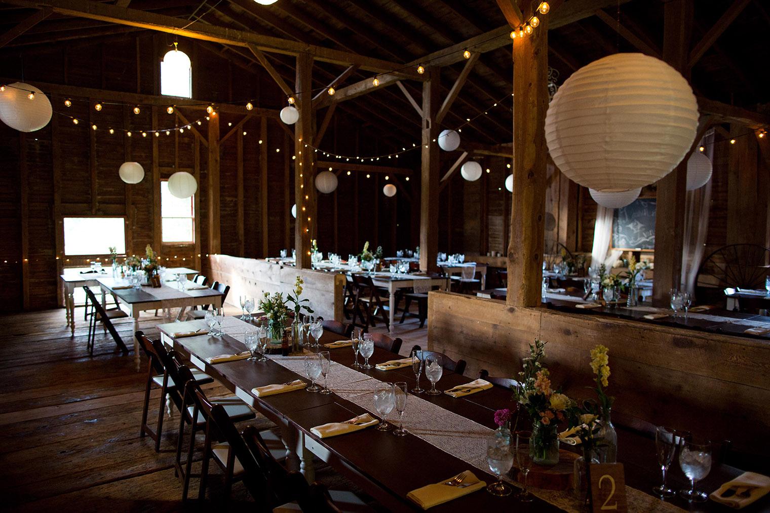 barn wedding venue in the catskills