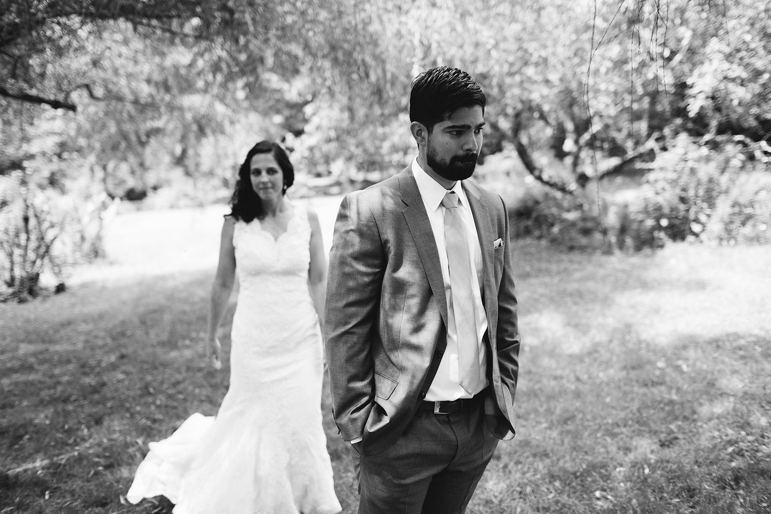 first look catskills wedding photographer