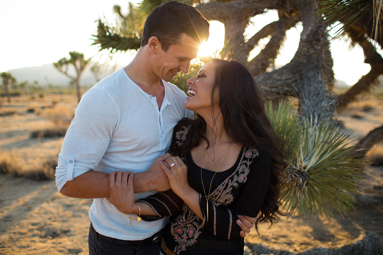 joshua tree engagement session_159