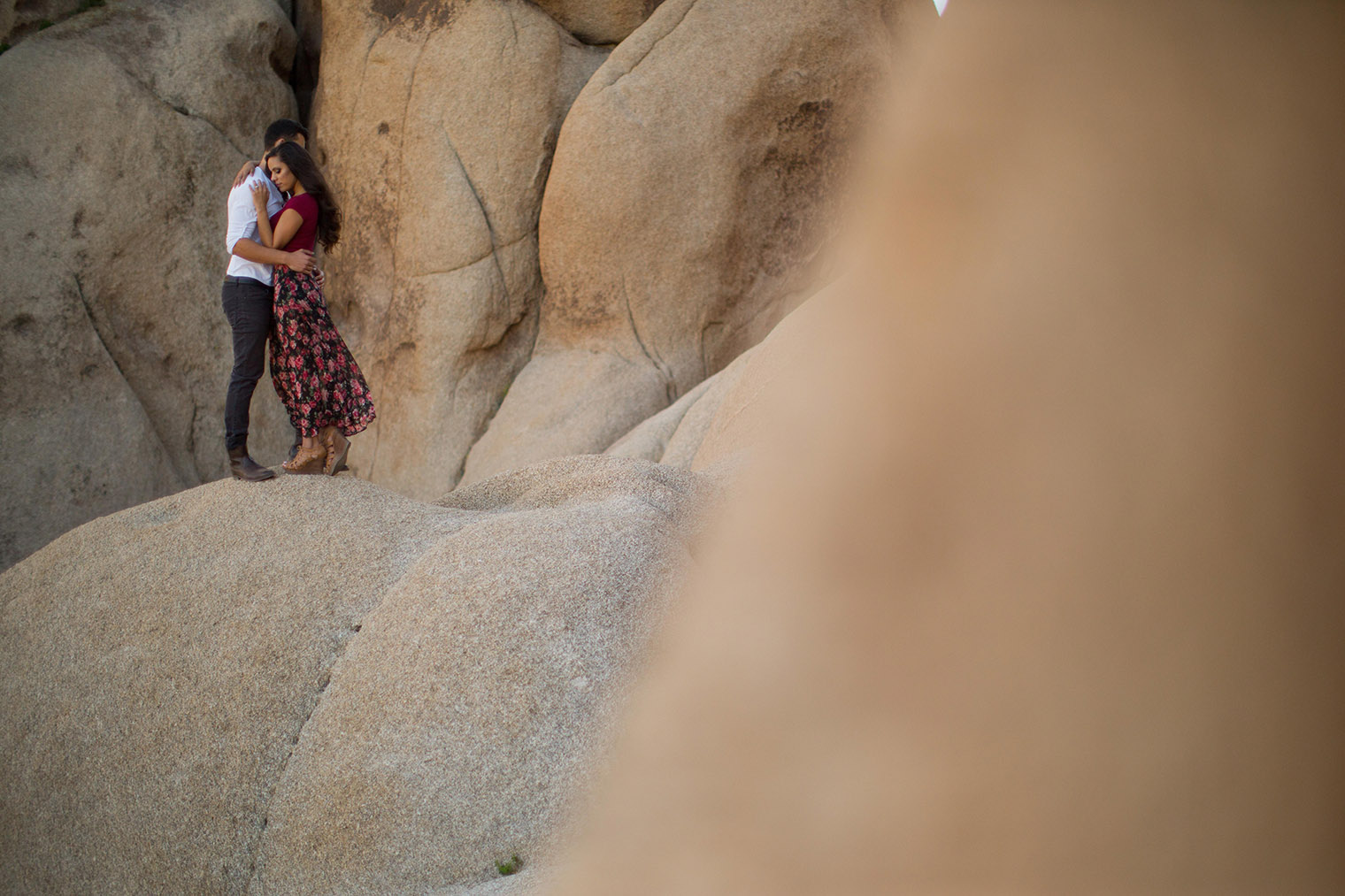 Desert Engagement Photos - Joshua Tree