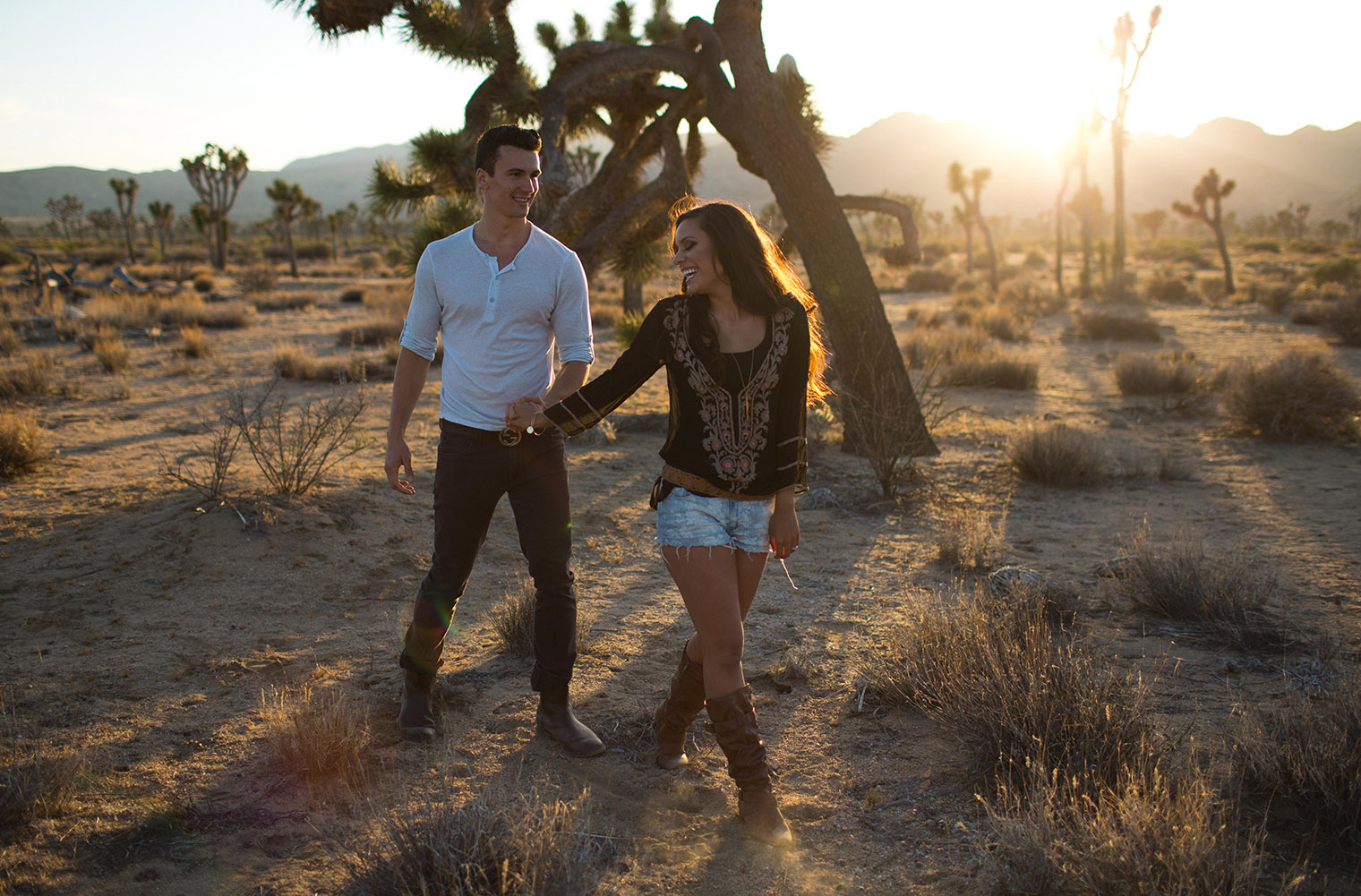joshua tree engagement session_171