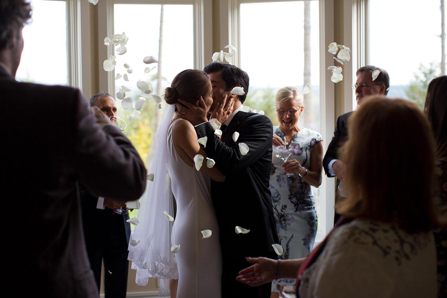 Seattle backyard wedding