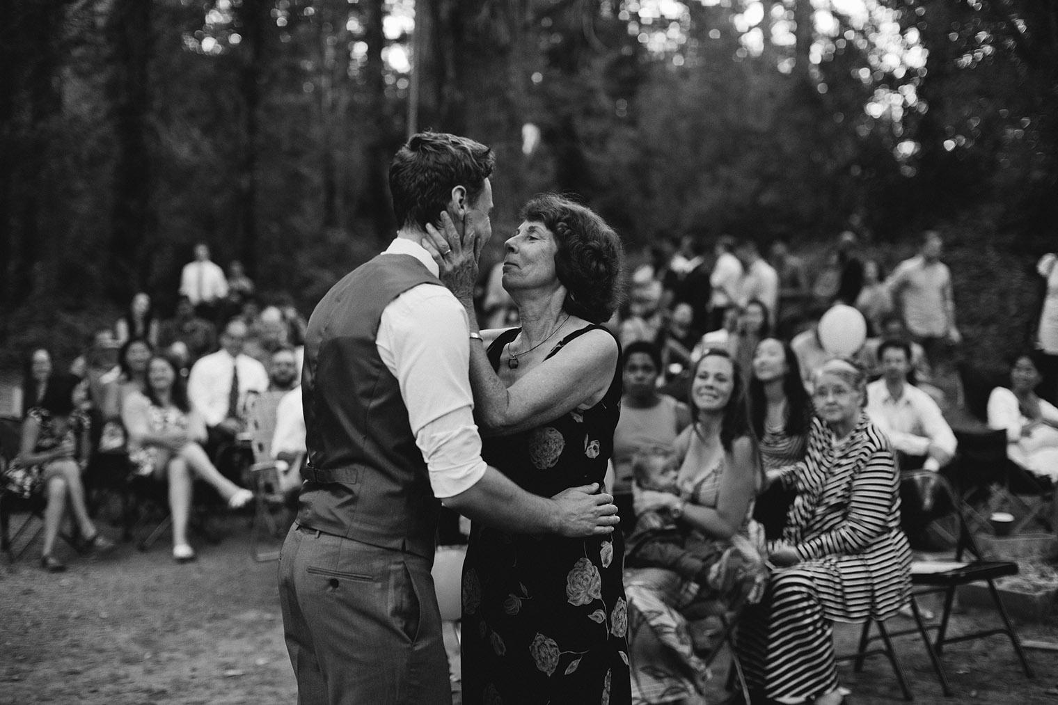 Guerneville Camp Wedding Photos