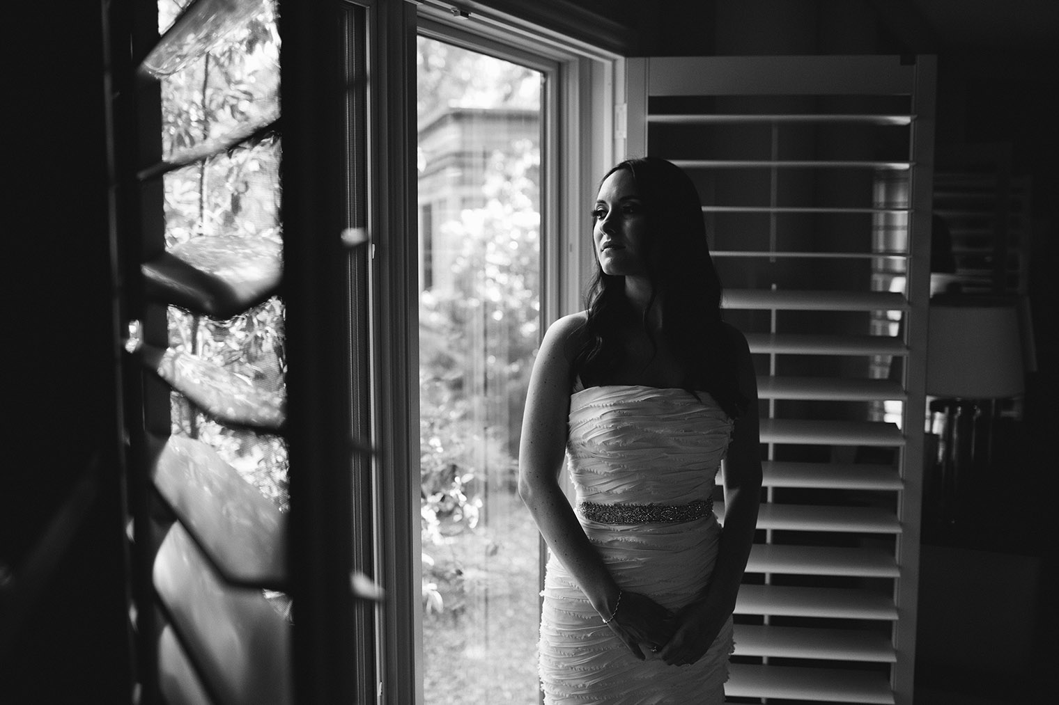 bride portrait Calistoga Ranch