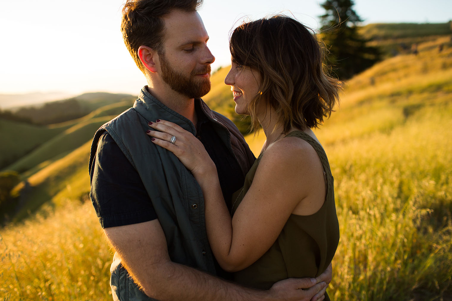 Mount Tamalpais Engagement Session