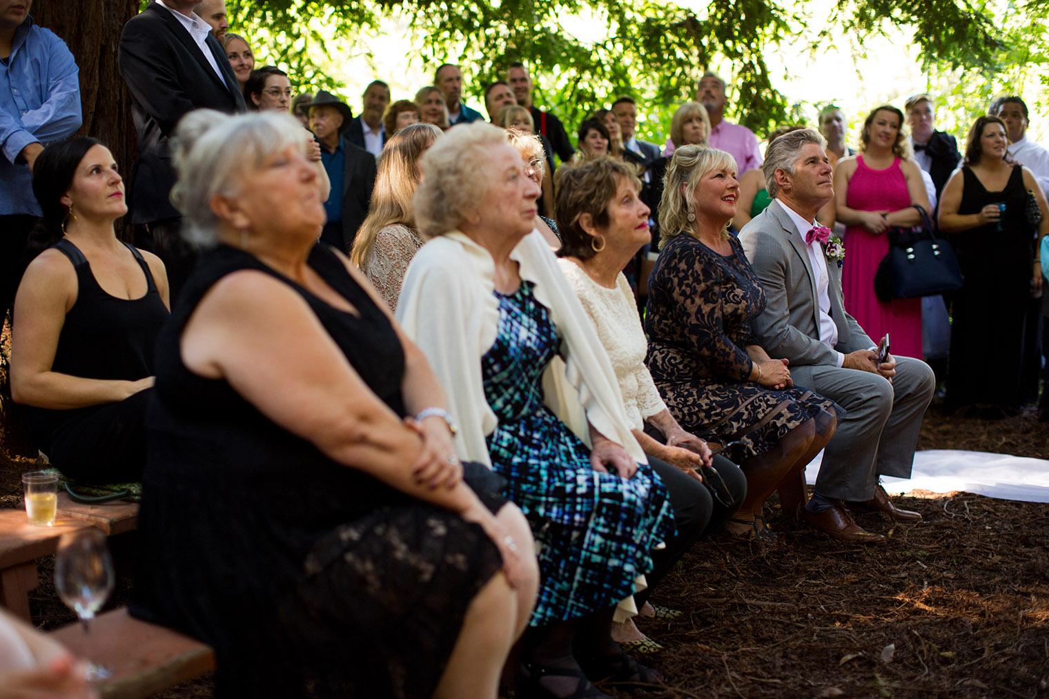 redwood camp wedding