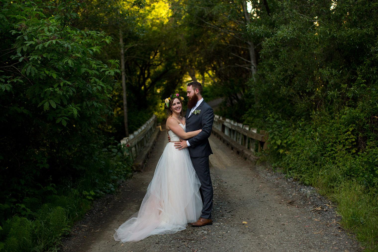 ovy camp wedding couple photos