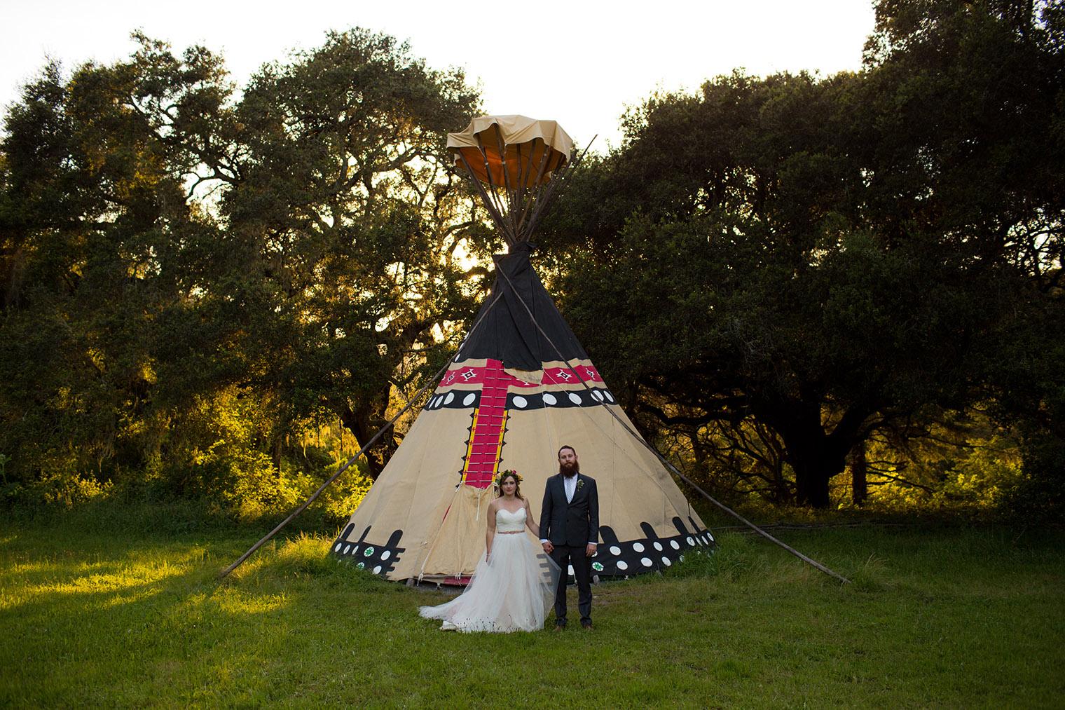 wedding photos at OVY Camp