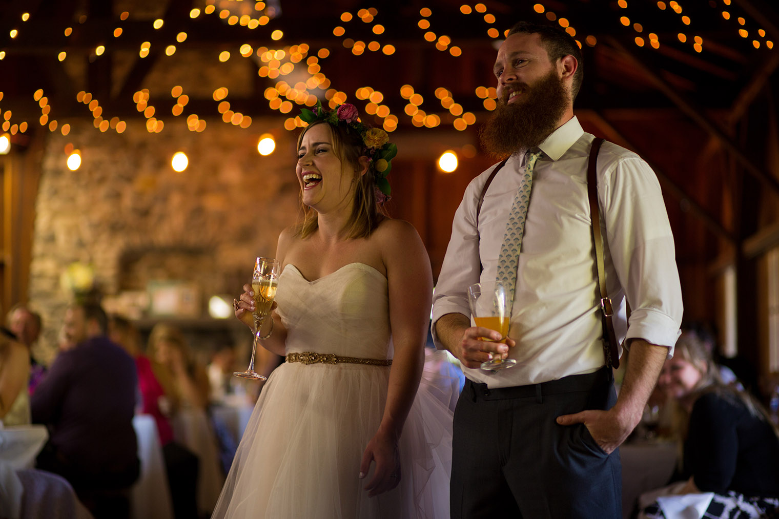 ovy camp wedding toasts