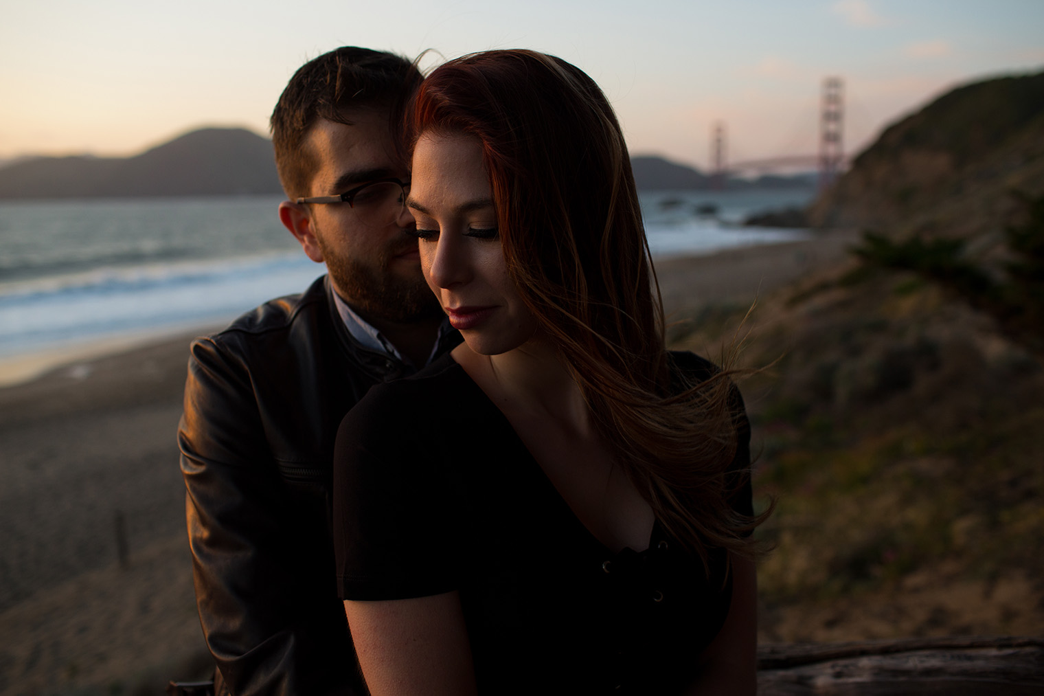 best spot for engagement photos in san francisco
