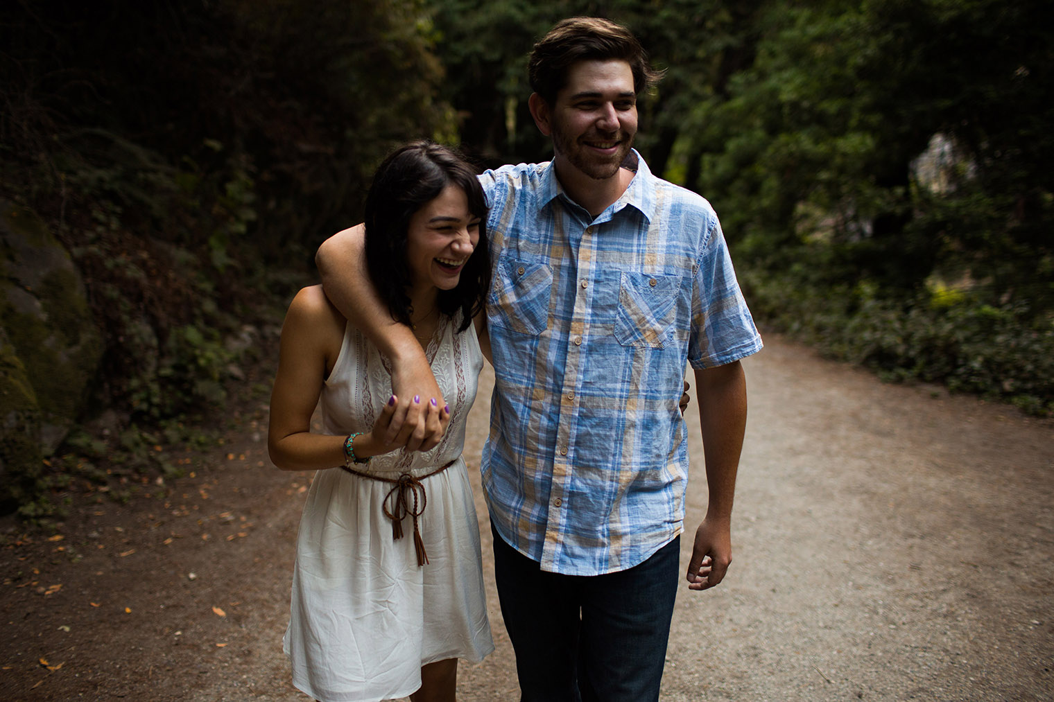 Limekiln State Park Engagement Photos