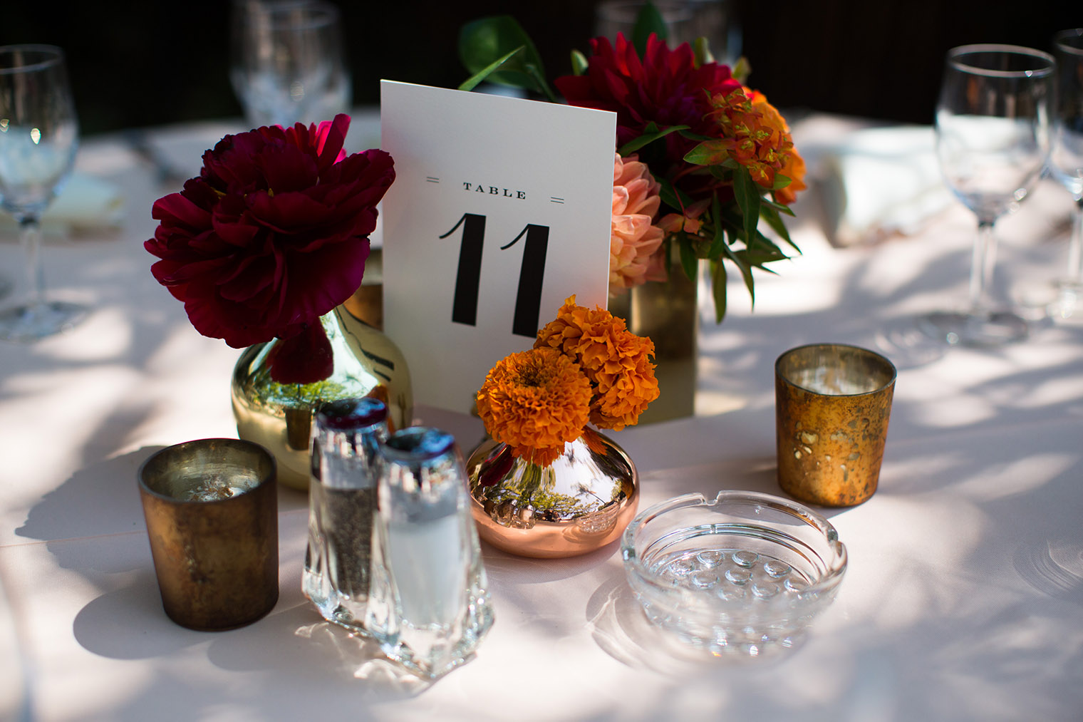 Happy Trails Cafe & Garden wedding details