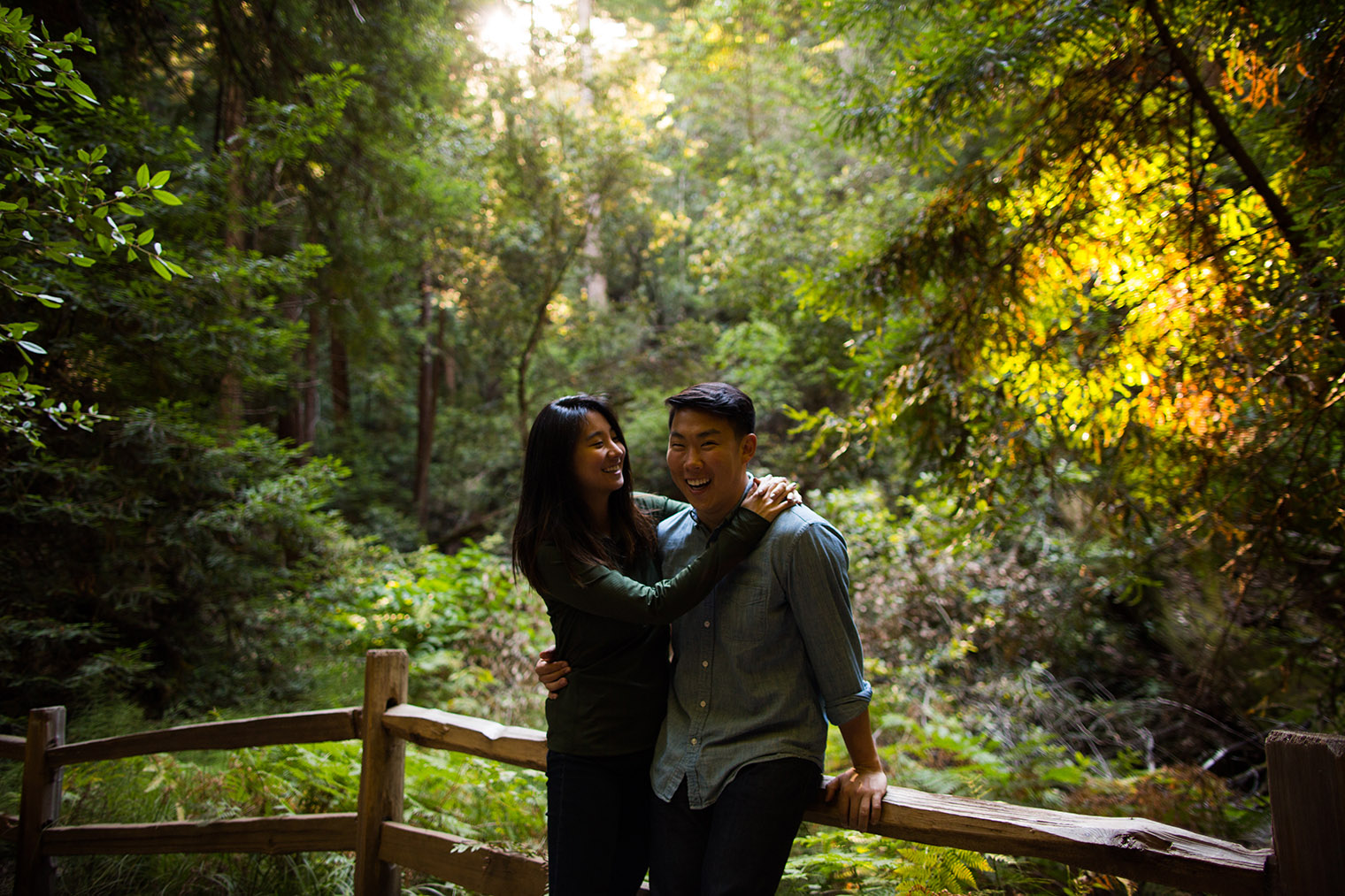 how to muir woods proposal by wedding photographer