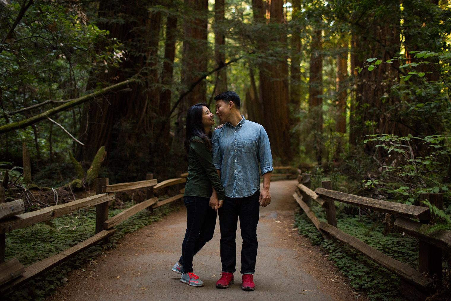 muir woods proposal - california, ca